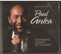 Rare NEW Sealed Reader's Digest Paul Anka Sentimental Journey of the Heart 3 CD