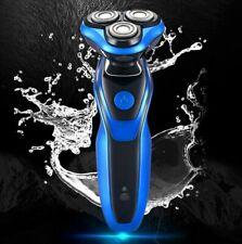 New waterproof 4D men's multifunctional three in one razor - blue