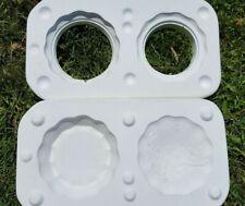 ceramic mold, Dogwood box