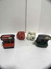 Lot of 4 Fujifilm & Polaroid Film Cameras