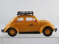 """Brekina VW Käfer 1200 A (1964-1966) """"DEUTSCHE BUNDESPOST"""" in gelb 1:87/H0 NEU"""