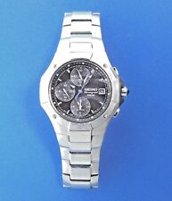 "Seiko Sapphire 100M Chronograph Watch 7T62 Men's 8"""