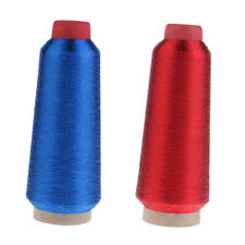Red Blue Bobbin Embroidery Quilting Polyester Thread Line for Sewing Machine