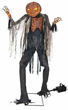 Scorched Scarecrow With Fog Machine Halloween Prop SEE VIDEO