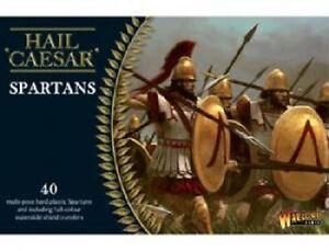 SPARTANS- HAIL CAESAR - WARLORD GAMES - 1ST CLASS