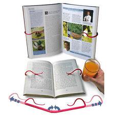 Adjustable Portable Book Clips Stand Holder Desk Document Hook [Random Color]