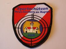 Stoffabzeichen - Sportschützen Kirchberg am Wagram