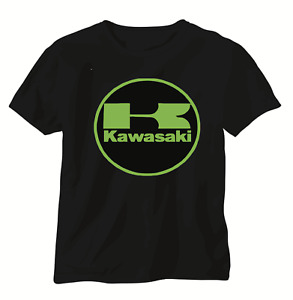 Kawasaki Ninja T shirt short sleeve motorbike motorcycle biker vintage racing