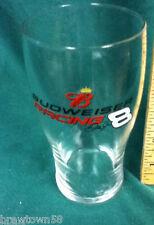 Budweiser beer glass barware drinking Anheuser-Busch Dale Jr 8 racing bar AV9