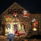 Christmas Decoration Led Light Auto Moving Snowflake Indoor Outdoor Projector