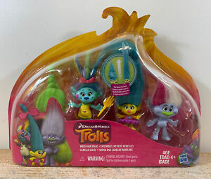 Trolls Wild Hair Pack Age 4+ DreamWorks Trolls New In Box