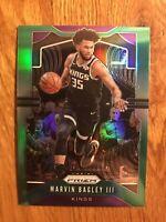2019-20 Panini Prizm Prizms Green #121 Marvin Bagley III Sacramento Kings