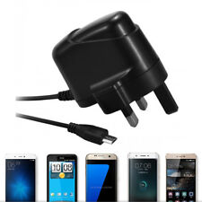 UK 3 Pin Micro USB Charger Plug 5V 1A Power Supply Adapter for Mobile Phones