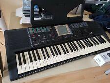 Yamaha Keyboard PSR-330 mit Sustainpedal dazu und Ständer