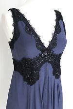 Pinko navy blue embellished dress 42 uk 10