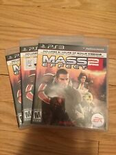 MASS EFFECT 2 - PS3 - COMPLETE W/MANUAL - FREE S/H (S)