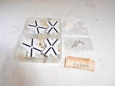 ++ Fleischmann 4x 6913 Kreuzungssymbol 4 Stück inkl. Schrauben Gleisbild NEU