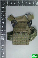 1:6 Scale ES 26033R Franch Special Force Breacher - Green Jumpbale Plate Carrier