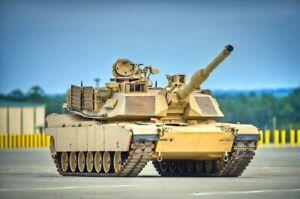Heng long 3918 1/16 6.0S US ABRAMS M1A2 Military RC BATTLE Tank 2.4GHZ RTR