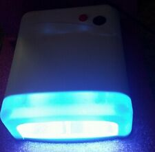 Nail Technician Enthusiast White Uv Lamp Gel Design Acrylics 120 Second Timer