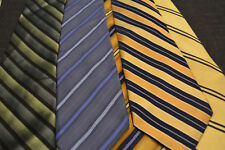 Lot of 5 striped Croft & Barrow Neckties - incredibly cheap price! Grab it! C7