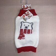 "NWT Christmas Holiday ""Polar"" Sweater For Dog Pet / Simply Dog / Small"