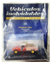 ixo 1/43 peugeot 504 1982 - pumper nic Argentina burguer die cast model pick up