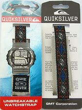 Quiksilver Watchband 16mm Wrap Around Watch Band Strap Surf Diver Quicksilver