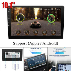 10.1'' 1080P Touch Car MP5 Player Bluetooth Radio Stereo For iOS/Android