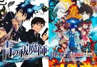 Blue Exorcist (37 Eps + Mv) + Kyoto Saga (12 Eps) ~All Region ~ English Version