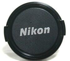 Nikon Genuine Original 58mm Front Lens Cap Nikkor Silver logo jn042