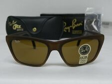 New Vintage B&L Ray Ban Cats 3000 Matte Brown Gradient B-15 W1205 Square