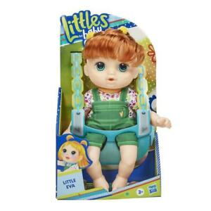 Littles by Baby Alive Littles Squad Little Eva Red Hair 9-inch Toddler Doll Comb