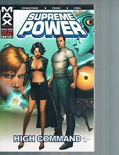 Supreme Power Vol 3: High Command by Straczynski & Frank 2005 TPB Marvel MAX