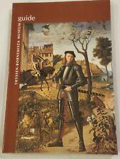 Thyssen-Bornemisza Museum Guide 1998 New Madrid Spain 2nd Edition