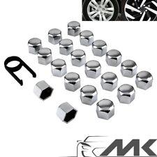 20 x 17 mm Kappen-Set Radschrauben Radmuttern Schrauben Abdeckungen paar Chrom