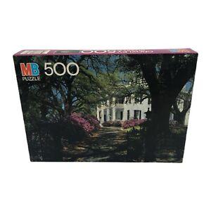 Milton Bradley Stanton Hall Natchez Mississippi 500 Piece Jigsaw Croxley Puzzle