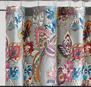 Pier I Imports shower curtain ashford floral Gray