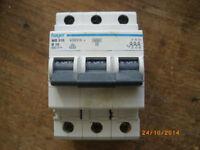 Hager MB 316 B16 3polig Sicherung Automat Leitungsschutzschalter Schaltschrank