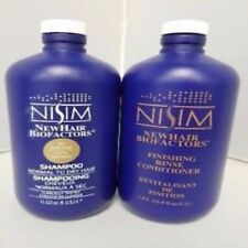 Nisim New Hair Biofactors Normal to Dry Hair Shampoo and Conditioner 33 oz.