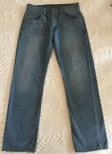 Levis Boy's 505 Straight Leg Blue Jeans Sz (Tag 18 Reg 29 x 29) Actual 29 x 28.5