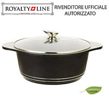 Casseruola con Rivestimento in Pietra antiaderente Royalty Line Rl-ngs40m 40 cm