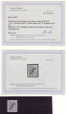 Berlin Michelnummer 5 IX  postfrisch mit Befund Schlegel (europa:2214)