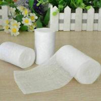 5Rolls Weiß Medizinische Behandlung Bandage Band Finger Wund Wrap Sportlich O0N5