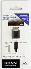 New listing Genuine Sony Wmp-Nwm10 Micro Usb - Wm-Port Plug Adapter