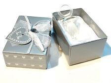 Objet de collection bébé  baptême tétine sucette cristal transparent