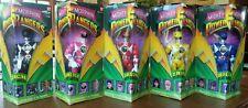 Vintage MMPR Power Rangers 8 inch Figures Complete Set Original 5 1993 in Boxes