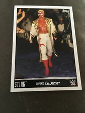 2015 Topps WCW Sting  #19 Defeats Avalanche