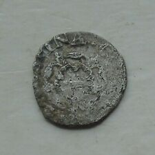 More details for charles i stuart period hammered silver penny crowned rose 12mm 0.42g