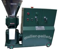 PELLETPRESSE PP120C 3KW Pellet Mill PELLETIERE PELLET HOLZPELLET TIER FUTTER